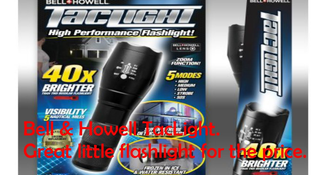 Bell And Howell Taclight Youtube