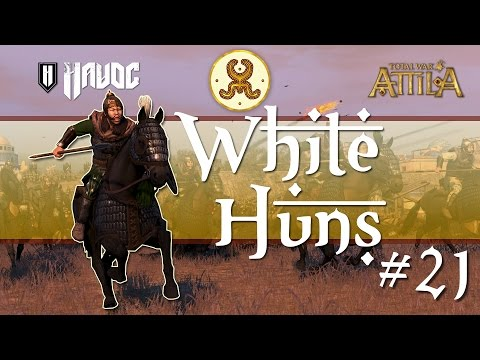 Total War: Attila - White Huns #21 | Death of a Once Mighty Empire