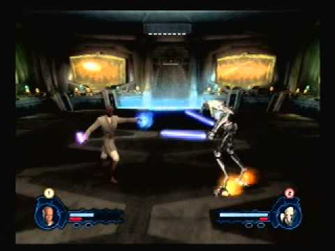 Star Wars Episode 3 Revenge Of The Sith Ps2 Game Mace Windu Vs General Grievous Youtube