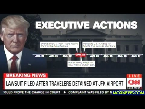 2 Iraqis Detained At JFK Airport In New York Because Of President Trump's Executive Order