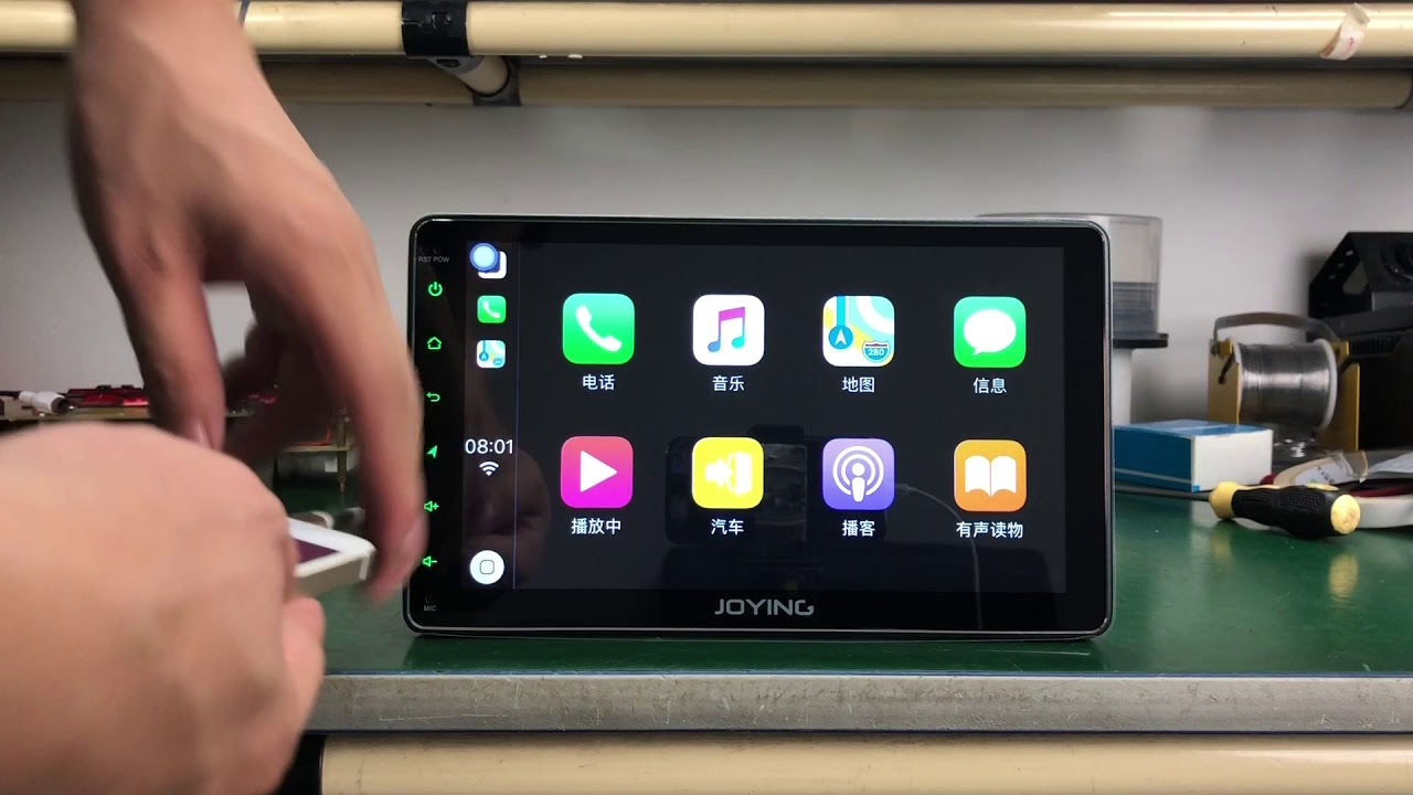 Joying HD Touch Screen Android 8 0 4GB Head Unit with Android Auto&CarPlay