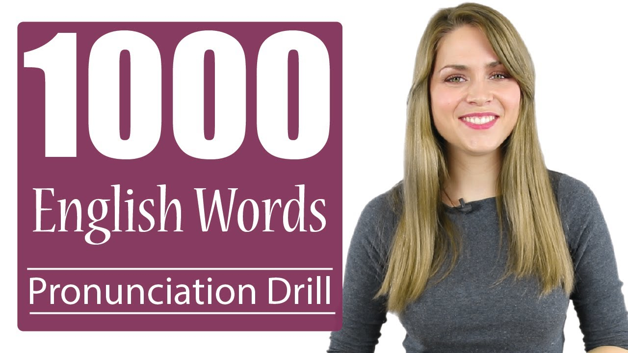 Download 1000 Most Common English Words   Practice British Pronunciation   Vocabulary Drill