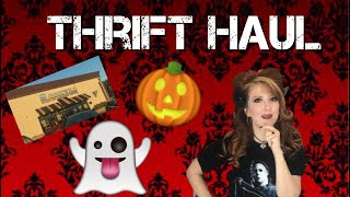 Thrift Haul Horror Halloween And DVD Pickups And Mouth Of Madness Unboxing