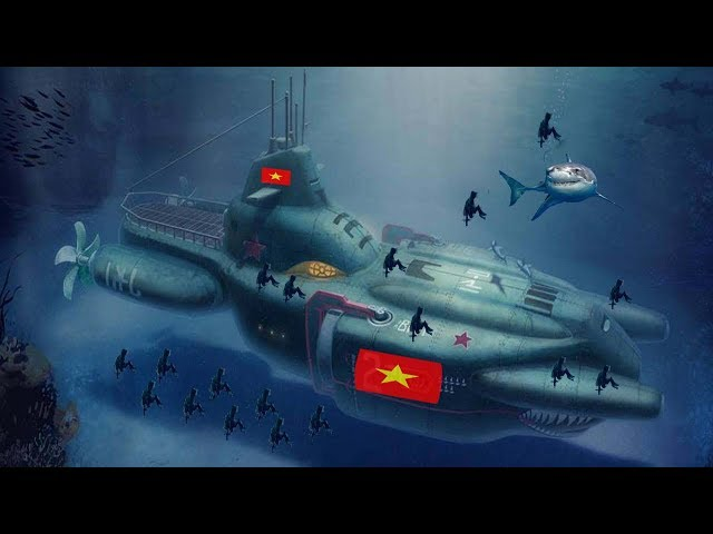 Thế giới ngả mũ, Tàu ngầm Việt Nam tự Sản Xuất uy lực Bẻ Đôi tàu sân bay đối thủ