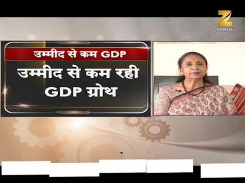 FY17 GDP ग्रोथ 7.1% / India's GDP growth in the Q4 drops to 6.1%