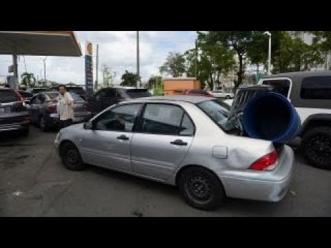 Puerto Rico prepares for Hurricane Maria