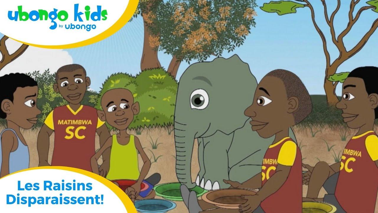 Épisode # 25: Les Raisins Disparaissent! | Ubongo Kids | Dessin animé éducatif d'Afrique