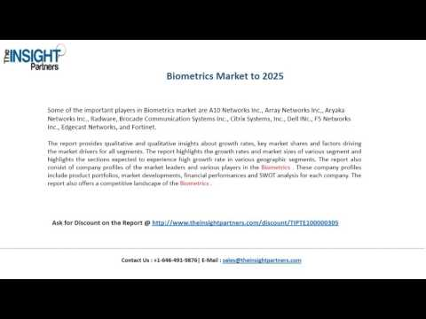 Biometrics Industry Analysis and 2025 Forecasts Research Report