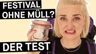 Reality Check: Klappt Zero Waste beim Festival? || PULS Reportage