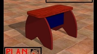 Chief's Shop Plan Of The Week: Simple Accent Stool