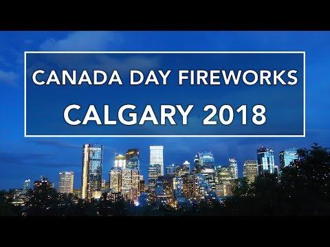 Canada Day Fireworks Calgary 2018