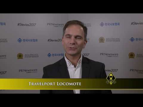 Travelport Locomote Discuss Their 2017 Stevie Award win