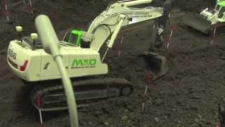 RC Construction Machines building a road Part 2