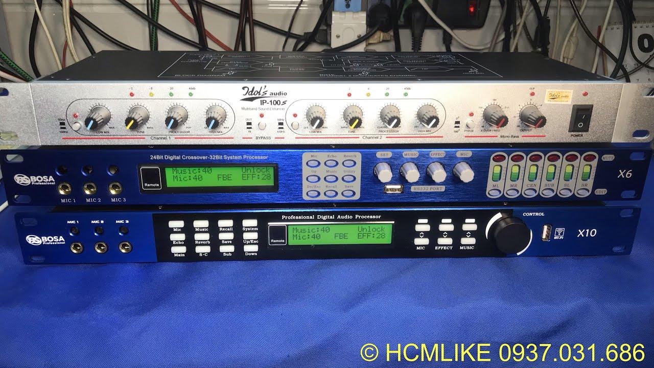 [HCM199] Chỉnh Bass-Trung-Treble trên Vang số dòng X. Hoàng Audio HCM. 0937031686 | 0983590781