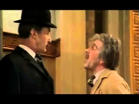 Frank Thornton as Captain Peacock in Are You Being Served.