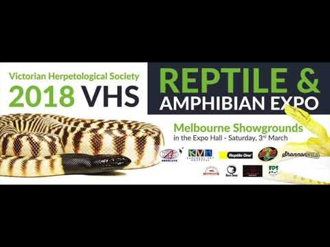 2018 Australian Reptile Expo Lineup!