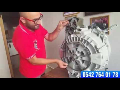 199 Amaşır Makinesi Kazan Lastiği Nasıl Değiştirilir How To