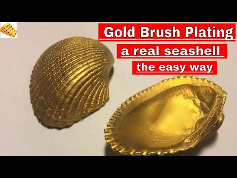 Plating on Plastic, Shell, Wood, Glass, Gold Plating