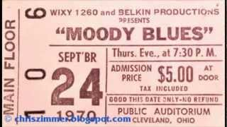 "Moody Blues ""Question""  Live Cleveland OH Public Auditorium September 24 1970 (Audio)"