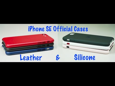 Apple Official Cases For NEW 2020 IPhone SE - Leather & Silicone (ALL COLORS) | Save $4?