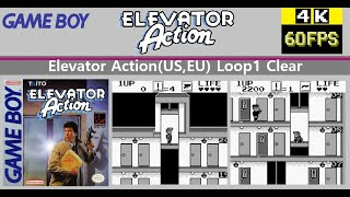 [GB] Elevator Action(US,EU Ver.) Loop1 Clear