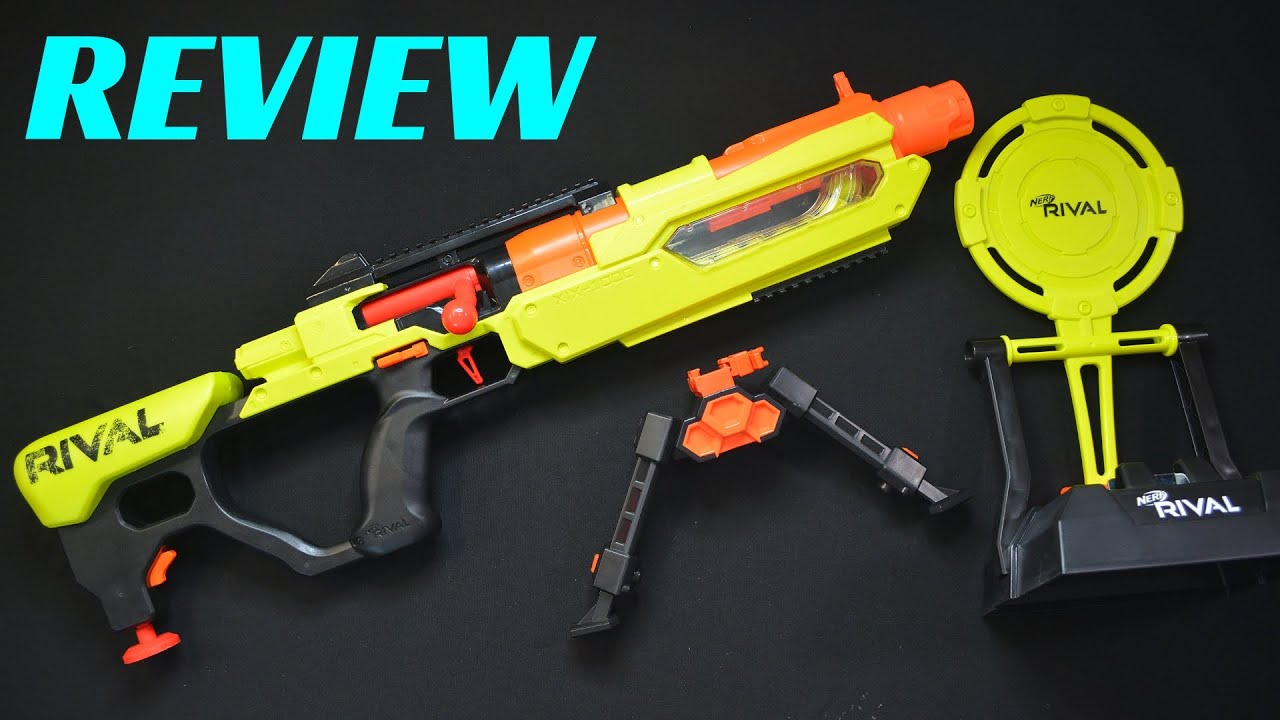 Review Nerf Rival Edge Series Jupiter Xix 1000 A Rival Sniper Rifle Youtube