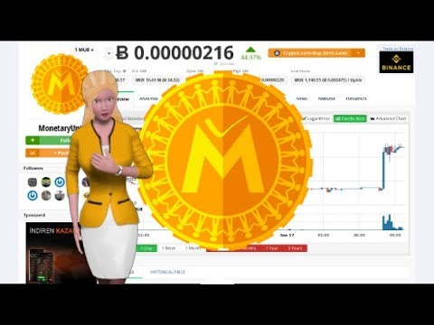MonetaryUnit $MUE Rose 44% During the Last Day 4