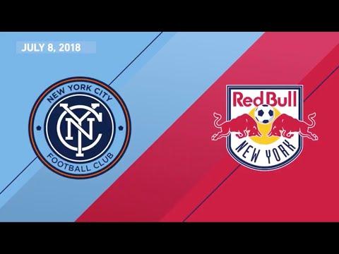 HIGHLIGHTS: New York City FC vs New York Red Bulls  July 8, 2018