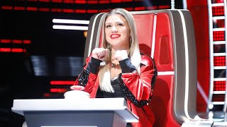 The Voice: Can Kelly Clarkson Take Down Blake Shelton With Adam Levine's Help?