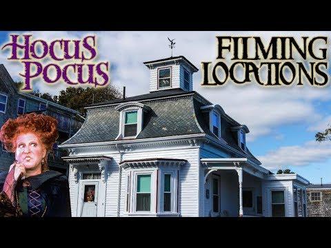 HOCUS POCUS (1993) - FILMING LOCATIONS In Salem, Massachusetts