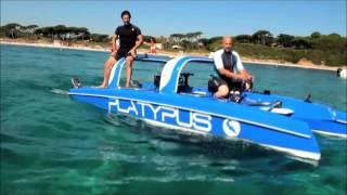 Tàu lặn biển san hô - Sea travel Semi Submersible boat (Platypus Craft)