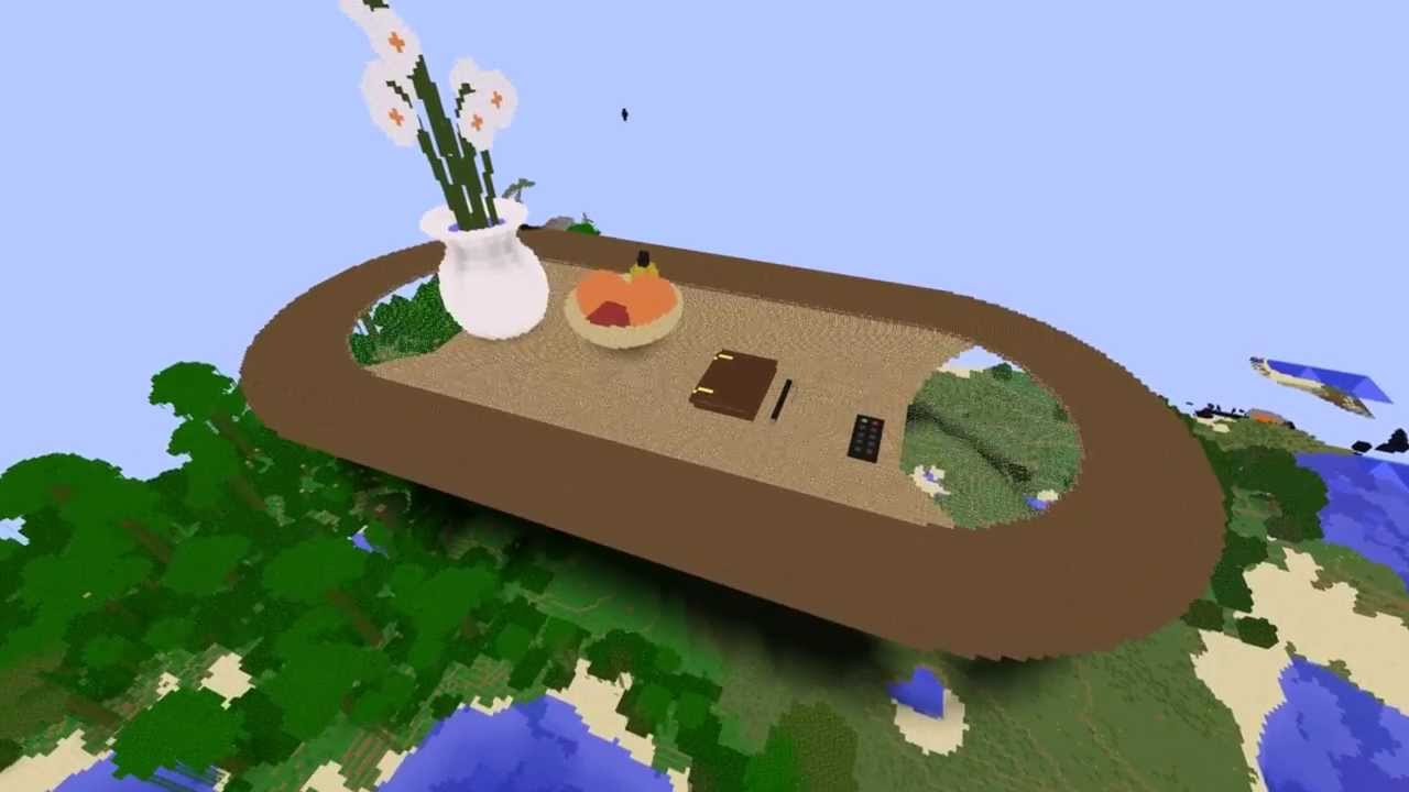 Lets Show Minecraft Ab 162 Wohnzimmer