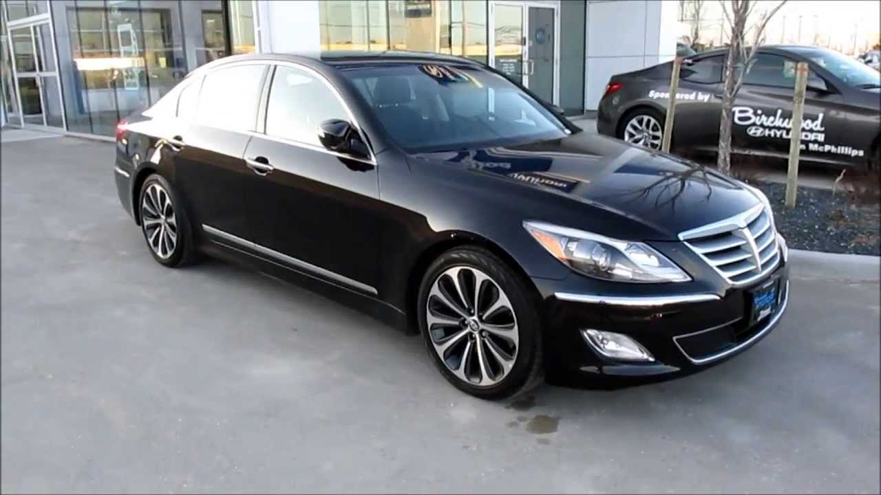 2013 hyundai genesis r spec 5 0 vehicle walkaround and window sticker youtube. Black Bedroom Furniture Sets. Home Design Ideas