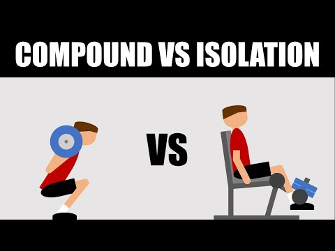 Compound vs Isolation Exercises for Hypertrophy? | What is More Effective for Muscle Growth?