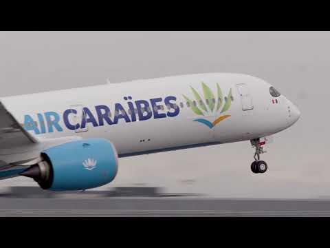 Présentation de la flotte d'Air Caraïbes