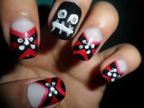 - X - Emo Nails - YouTube