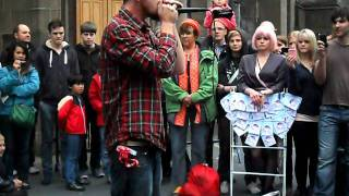Awesome BeatBoxer(harmonica) @ Edinburgh Festival!