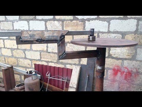 Стол для холодной ковки своими руками видео