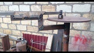 Станок для холодной ковки своими руками.(Самодельный станок для холодной ковки. Ссылка на продолжение https://www.youtube.com/watch?v=7tJYyd7dnpc http://del.ucoz.com/video/vip/10/myvide., 2016-02-17T15:27:22.000Z)
