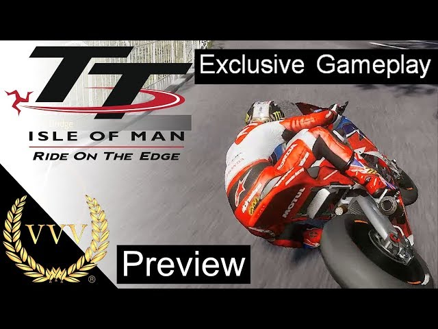 TT Isle Of Man Preview - Exclusive Gameplay