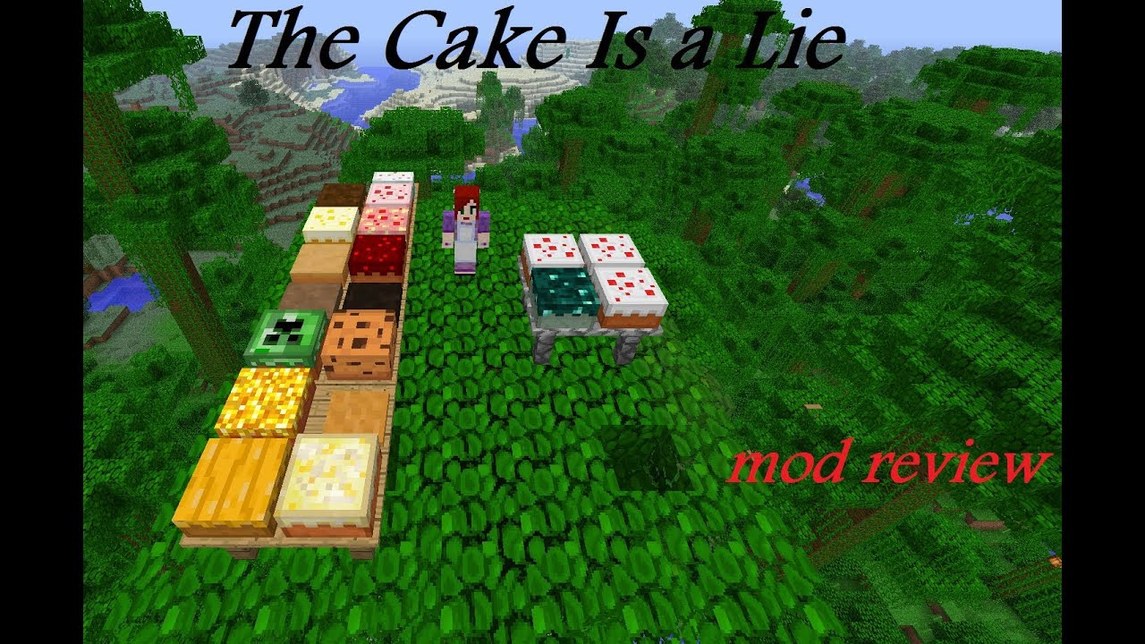 Cake Is A Lie Mod