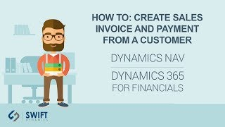 How to: Create Sales Invoice and Payment from a Customer in Dynamics NAV