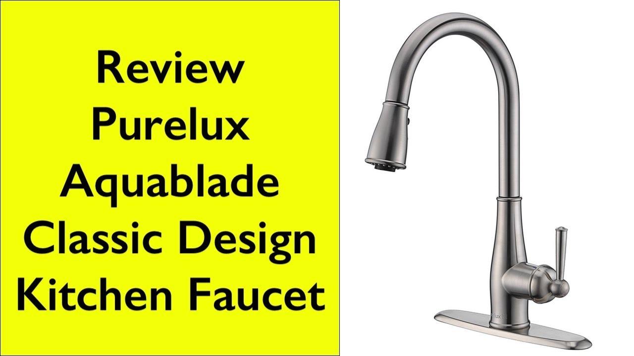 review u0026 installation of purelux aquablade pull down kitchen