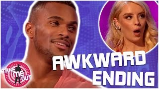 Conrad's Awkward Ending...We Can't Watch! | Take Me Out | 2017