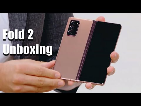 Samsung Galaxy Z Fold 2 - Unboxing and Overview