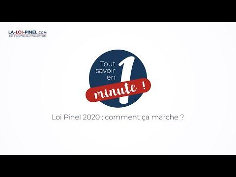 Loi Pinel 2020 comment ça marche : Tout savoir en 1 minute !