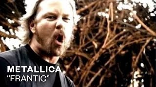 Watch Metallica Frantic video