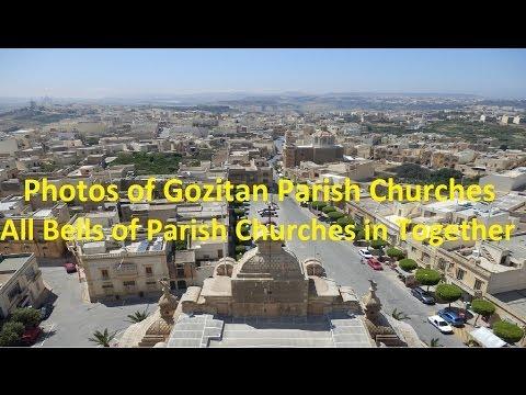 Gozitan Parish Churches - Photos - All Bells of Parish Churches in Together in One PEAL - 74 Bells.