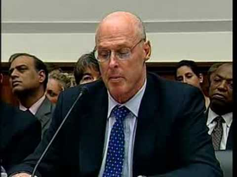 Henry Paulson: Bailout The Only Effective Plan For Americans