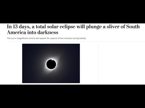Solar Eclipse On December 14, 2020
